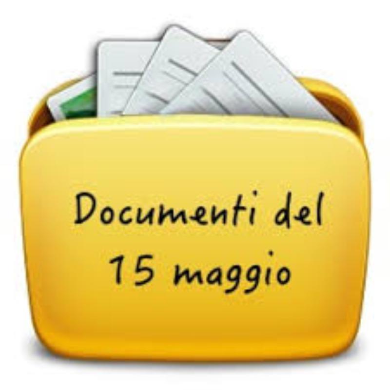 DOCUMENTO DEL 15 MAGGIO