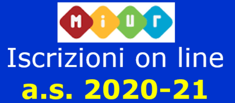 ISCRIZIONI 2020/2021