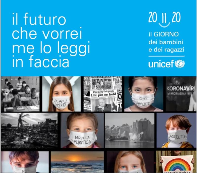 UNICEF - IL FUTURO CHE VORREI ME LO LEGGI IN FA...
