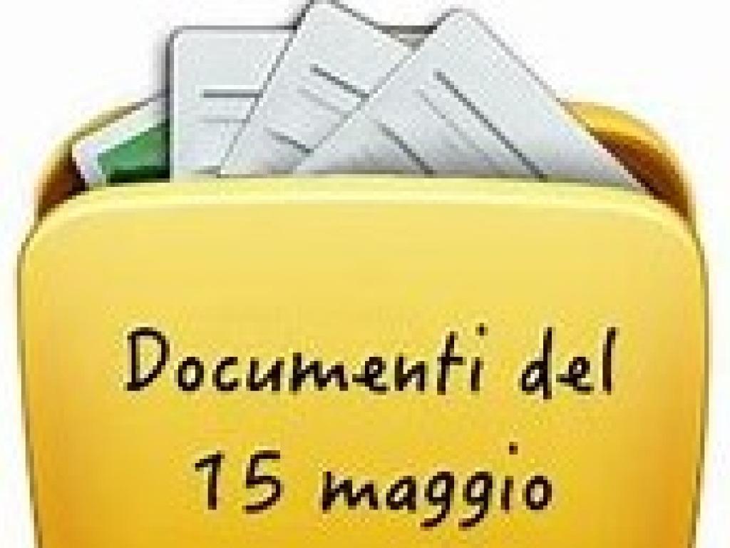 PUBBLICAZIONE DOCUMENTI DEL 15 MAGGIO III LICEALI